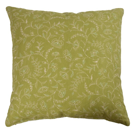 """Image of Greta Green Double Sided 32"""" Pillow"""