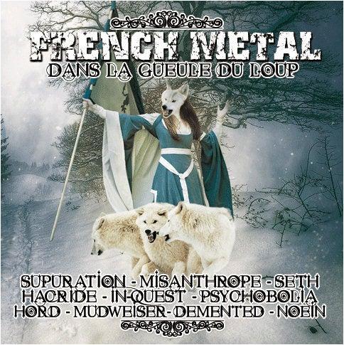 """Image of French Metal 16 Compilation """"Dans la Gueule du Loup"""