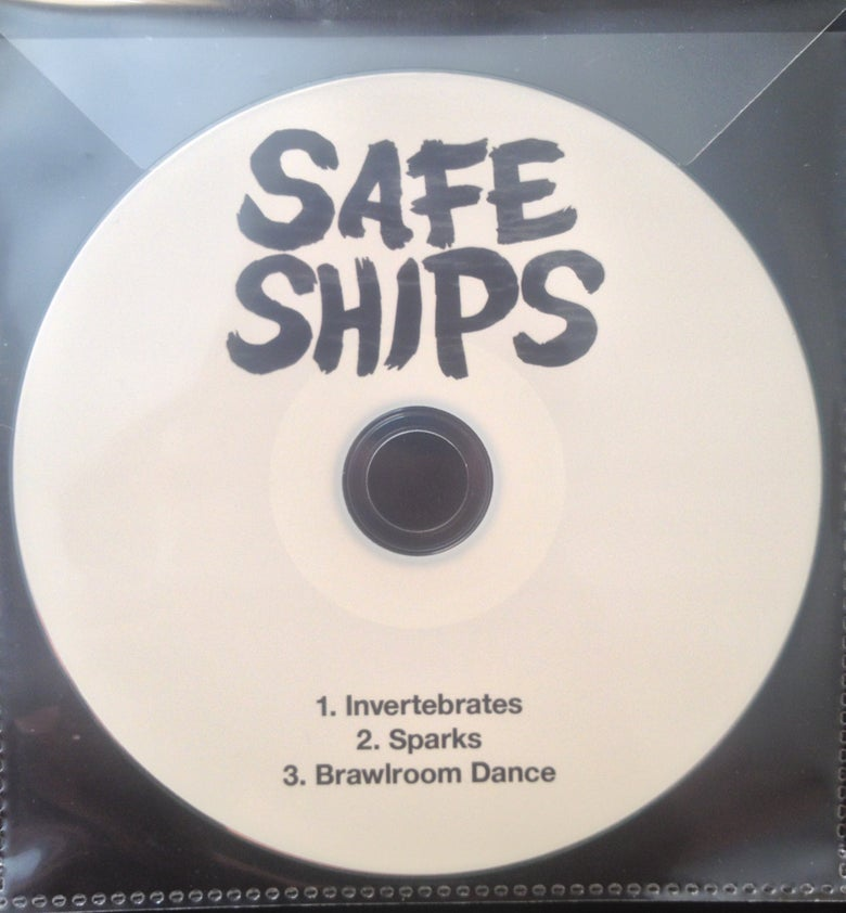 Image of 'THE GREATNESS INSIDE' SAFE SHIPS EP