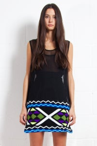 Image of Fair Isle Mesh Vest