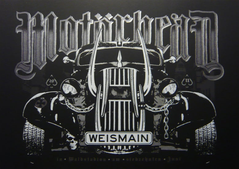 Image of Varient - Motorhead - Germany 2011 - Silkscreen Poster