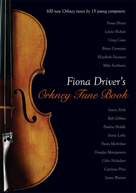 Image of Fiona Driver's Orkney Tune Book - ONE LEFT
