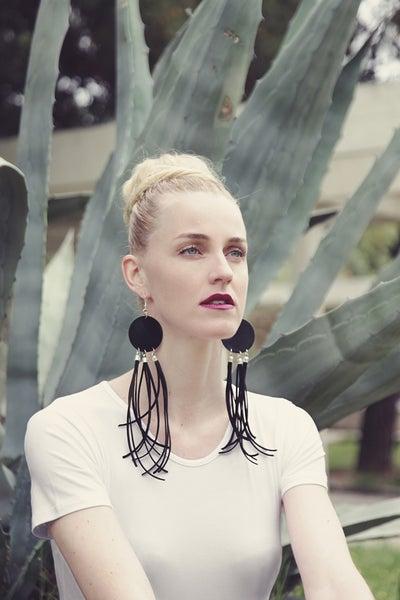 Image of Long Vinyl / Earrings