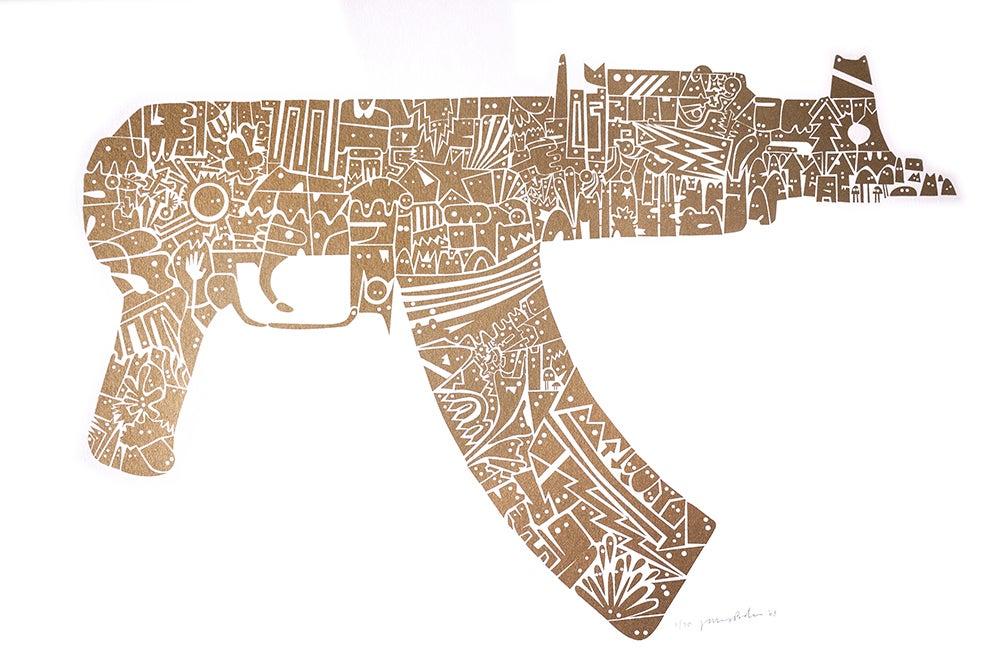 Image of AK47 Pistol