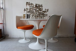 Image of 1970's tulip table and chair