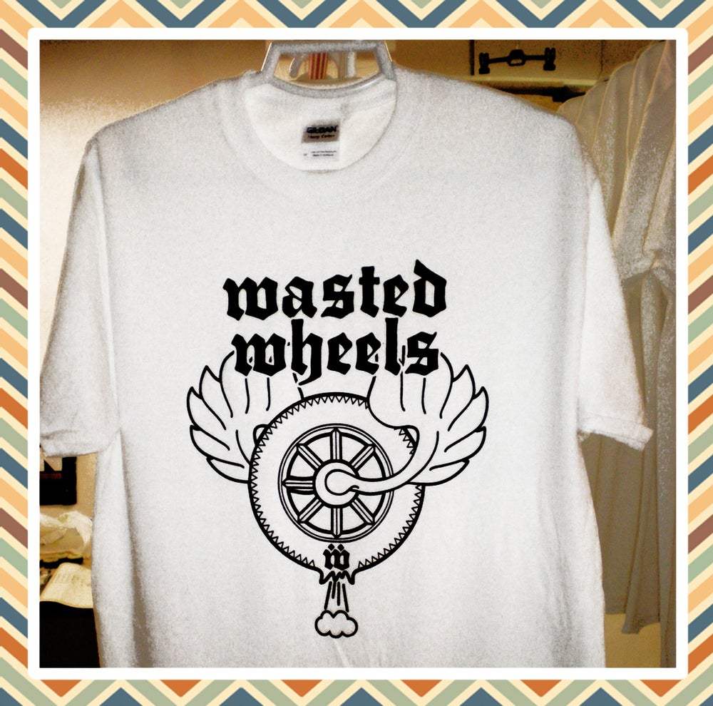 Wasted wheels t shirts wasted wheels for Big cartel t shirts