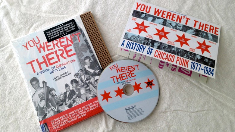 Image of You Weren't There- A History Of Chicago Punk 1977-84 DVD