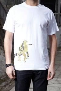 Image of Drunken Monkey - white t shirt