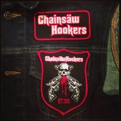 Image of CHAINSAW HOOKERS - EMBROIDED JACKET PATCHES