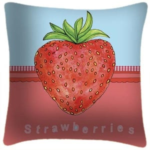 Image of Strawberry Cushion