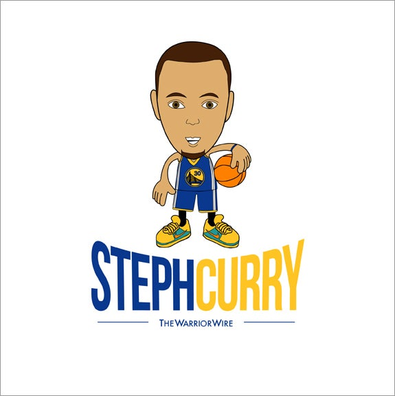 "Image of ""Steph Curry"" Tee - Color: WHITE"