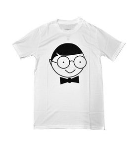 Image of Brand print T-shirt (White)