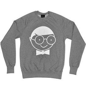Image of Brand print Sweatshirt (grey)