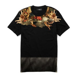 Image of Tee Shirt - Anges/Angels - Black