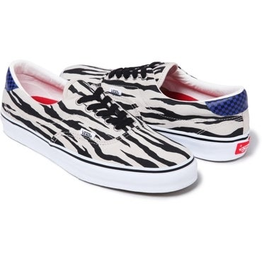 Image of Supreme Vans Zebra Era Authentic sz 10