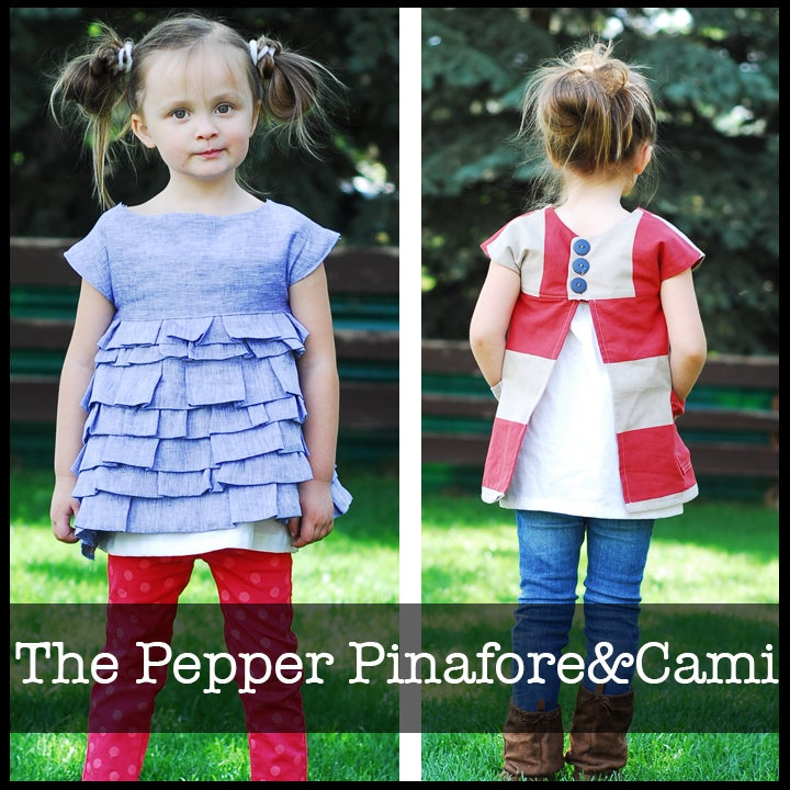 Image of The Pepper Pinafore&Cami