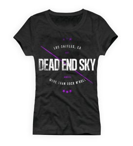 Image of Dead End Sky Women's T-Shirt - More Than Rock N' Roll