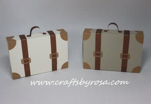 Image of Suitcase Favor Box