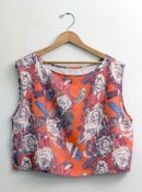Image of Red Floral Tank