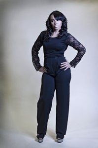 Image of Black jumpsuit