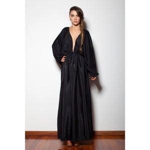 Image of Pepper - Maxi Kaftan Dress - Black