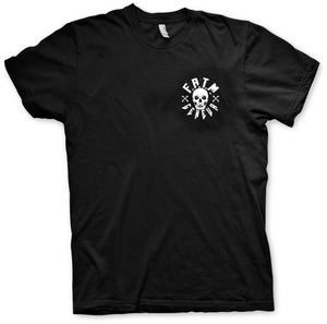 "Image of T-shirt Men/Girls ""Fun at the Morgue skull"""