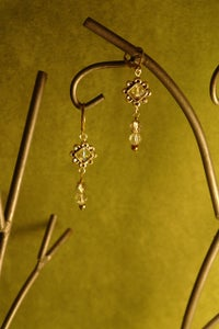 Image of Shine bright Swarovski crystal beads and Sterling silver earrings