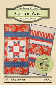 Image of July - Fresh and Fancy PDF Pattern #5007