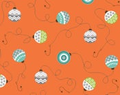 Image of Orange Bobbers form Here Fishy, Fishy 6099-33