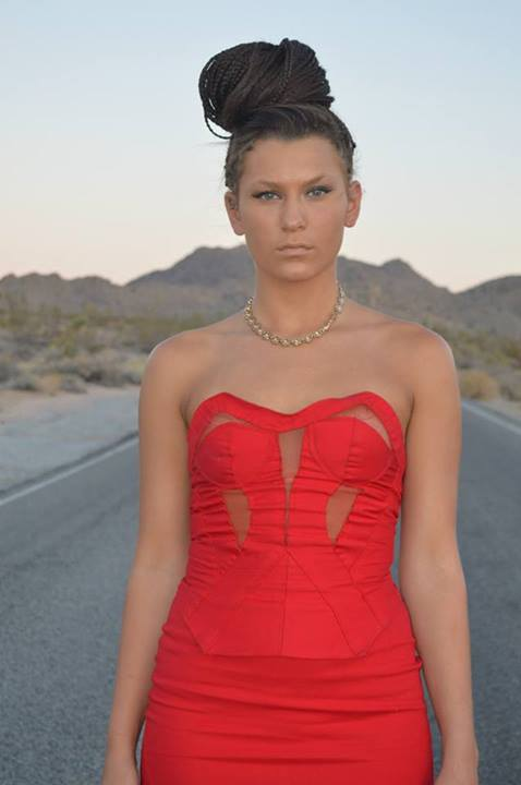 Image of Red Corset Top