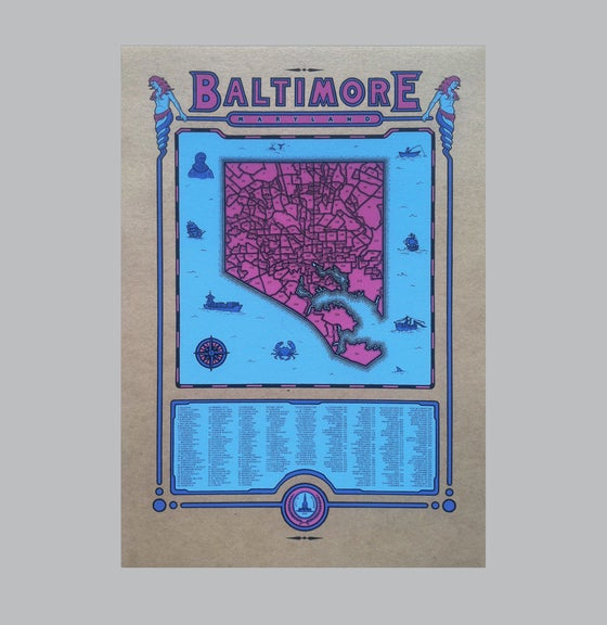 Image of Baltimore Map