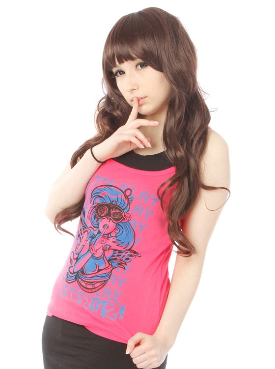 Image of Sonic Hair - Limited Edition Girl's Strappy Vest
