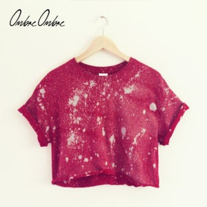 Image of Galaxy Crop - Crimson Red