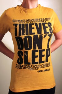 "Image of ""Thieves Don't Sleep"" - Lyric Tee"