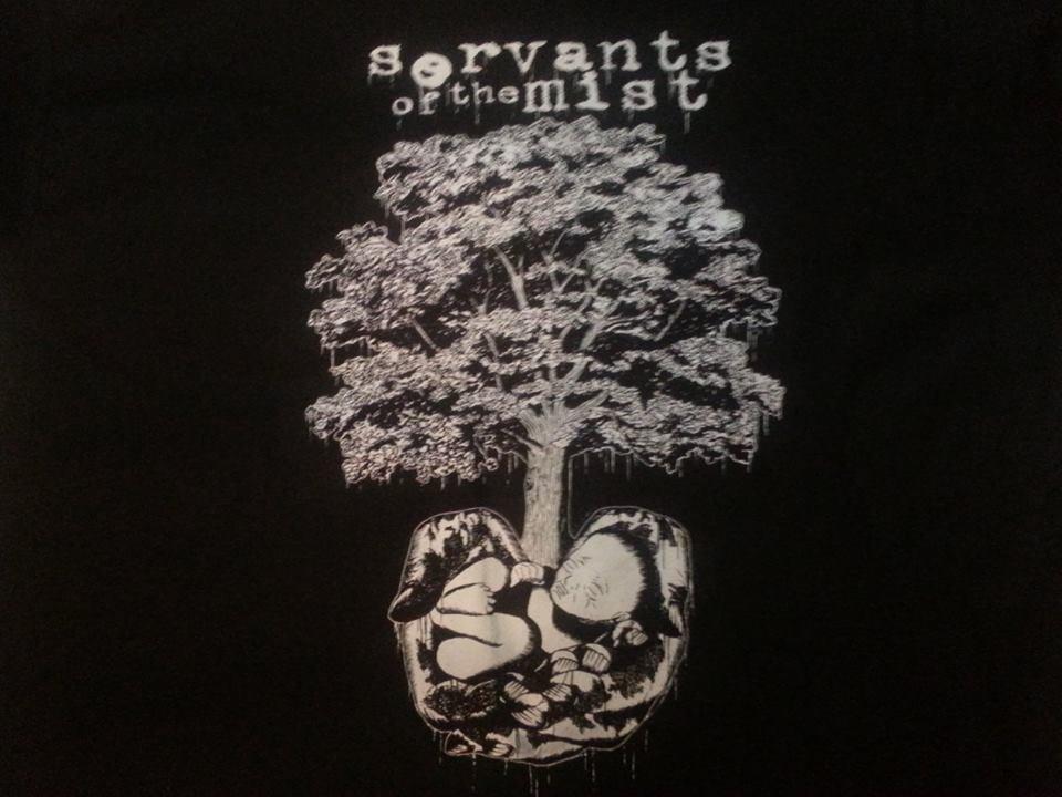 Image of Servants of the Mist - Gestation Tree Tee