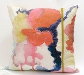 Image of Bleeding Bouquet -- Pillow