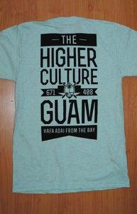 Image of Guam Tee (Ash Seafoam)