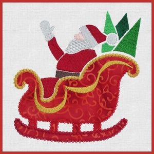 Image of Sleigh Snowflake AccuQuilt GO! 55322