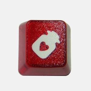 Image of Translucent Heart Bottle Keycap
