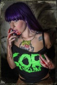 Image of WOMENS GORE Logo Lime Green T-Shirt (LIMITED STOCK!)