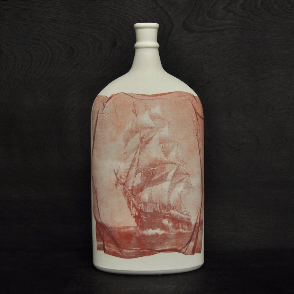 Image of Wooden ships bottle