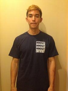 """Image of """"Alive Inside"""" Navy T-Shirt"""