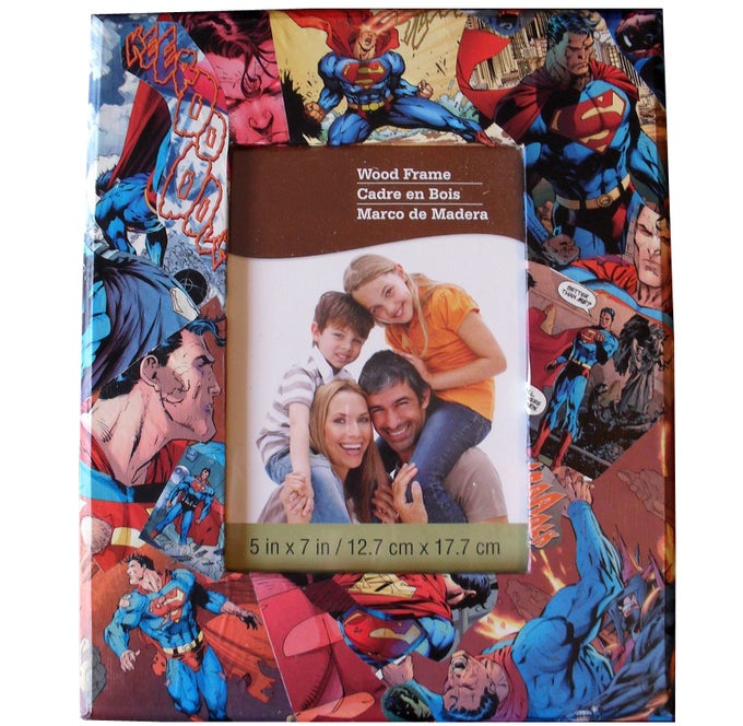 "Image of CUSTOM Comic Collage Picture Frame 5"" x 7"""