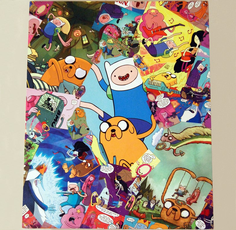 Image of CUSTOM Comic Collage Wall Art (Medium)