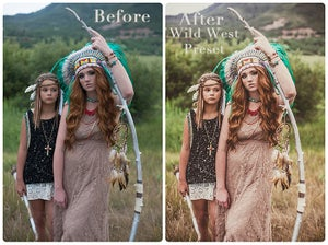 Image of Headed West Presets for RAW** Lightroom 4/5