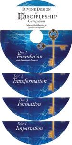 Image of Divine Design for Discipleship Curriculum - 4 Set CD's