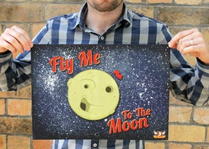 "Image of ""Fly Me to the Moon"" print"