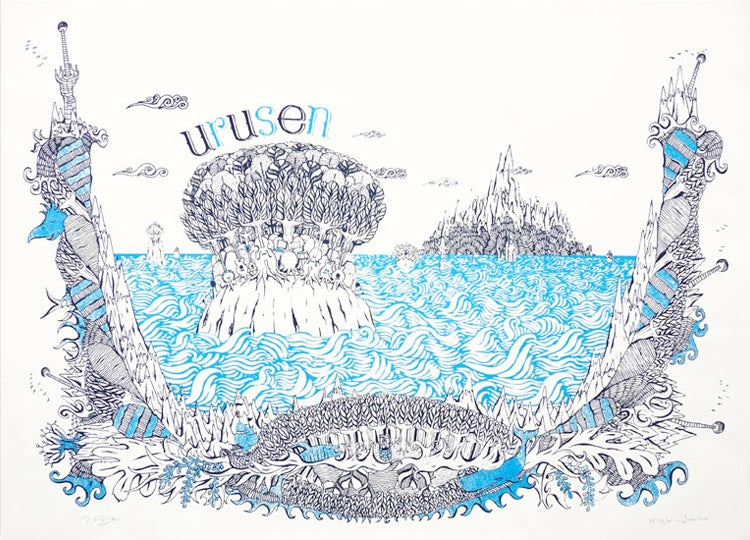 Image of URUSEN SCREEN PRINT