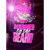 "Image of BLACK ""MARRIED TO THE BEARD'' TSHIRT PINK PRINT"