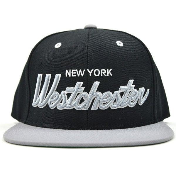 Image of Westchester NY Silver & Black SNAPBACK